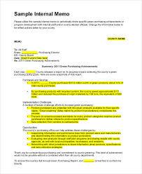 11 internal memo examples samples