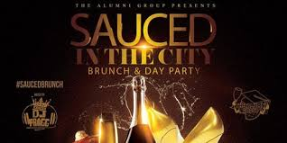 sauced in the city brunch day happy hour thanksgiving