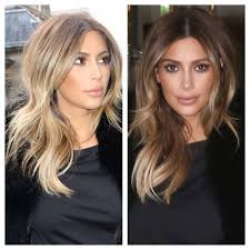 kim kardashian blonde hair color hair color ideas pinterest