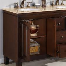 Bathroom Vanities Free Shipping by 55 U201d Perfecta Pa 130 Bathroom Vanity Double Sink Cabinet English
