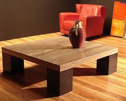 stone international console table with wenge base 8044