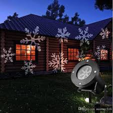 red and white led outdoor christmas lights outdoor holiday light led snowflake projector color white red green