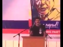 cebu city baste duterte speech thanksgiving