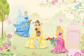 disney princess wallpaper wall murals photowall co uk wall mural princess rose garden