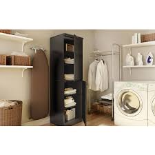tall narrow storage cabinet south shore narrow storage cabinet multiple finishes walmart com