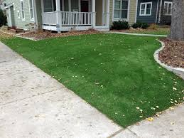 synthetic grass arcola texas landscape rock front yard landscape