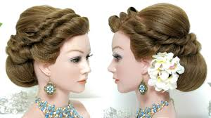 hairstyles for wedding bridal hairstyle wedding updo for hair tutorial