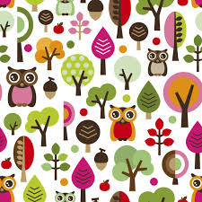 owls and trees children s wall mural ohpopsi wallpaper owls