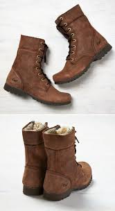 womens ugg hiking boots brown boots they re fuzzy inside fall winter