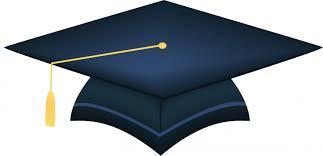 blue graduation cap graduation cap blue clipart clipartix