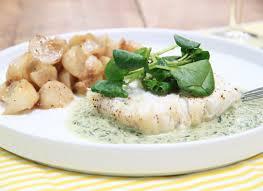 cuisiner poisson blanc poisson blanc au cresson et navets confits la recette de poisson