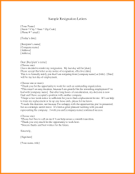 How To Write Resignation Notice 11 Writing A Letter Of Resignation Nurse Resumed