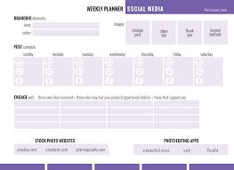 rodan fields network marketing goal checklist planner social media