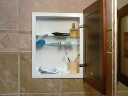 recessed bathroom mirror cabinet great elegant recessed medicine cabinets without mirror with regard