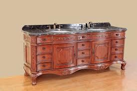 bosconi 78 inch antique double sink bathroom vanity dark