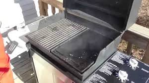 top gas grills cast iron griddle demonstration on a weber grill part 7542 youtube
