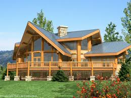 daylight basement homes pictures log home of the month