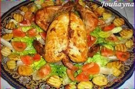cuisiner de a à z poulet au four la cuisine de jouhayna de a à z cuisine