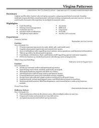 Csr Job Description For Resume by Download Fast Food Job Description For Resume