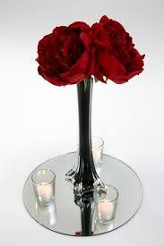 Single Stem Glass Vase Black Single Stem Glass Vase For Hire Rent Or Rental In