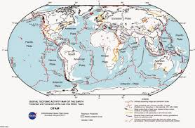 Earthquake Map Seattle by World Map Of Fault Lines And Tectonic Plates Earthquake Map