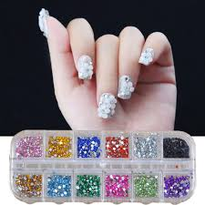 aliexpress com buy 500pcs 2mm round rhinestones 12 colors hard