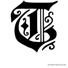 old english alphabet letter templates alphabet templates org