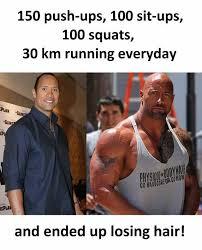 Hardcore Memes - dopl3r com memes 150 push ups 100 sit ups 100 squats 30 km