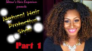 Curly Hair Braid Extensions by Curly Girls Have More Fun Natural Hair Protective Style Part 1
