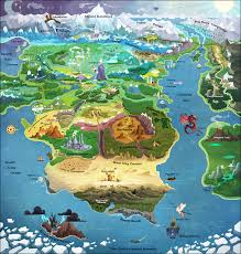 Hungry Shark Map Here There Be Dragons Tv Tropes