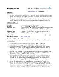 Sql Developer Sample Resume by 20 Sql Dba Sample Resume Oracle Experience Resume Sample