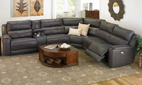 sectional sofas living spaces living room image power reclining sectional sofa marx kahlua