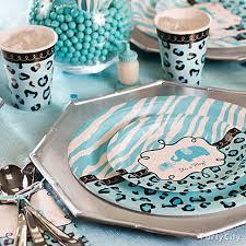 Safari Boy Baby Shower Ideas - blue baby shower decorations best baby decoration