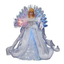 amazon com kurt adler led fiber optic angel figurine 12 inch