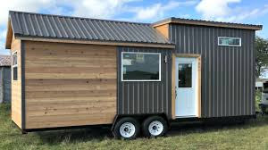 fanciest tiny house tiny house on wheels full sized kitchen storage integrated