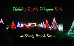 shady brook farm holiday light show shady brook farms night out