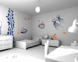 Bedroom Wall Patterns Painting 2017 Paint Color Trends Interior Wall Painting Designs House