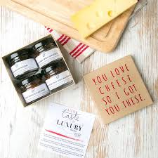 cheese gifts cheese lover s chutneys gift set