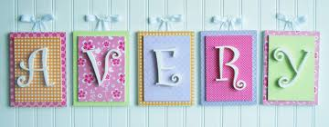 Decorating Wooden Letters Wooden Letters As Kids Room Wall Art