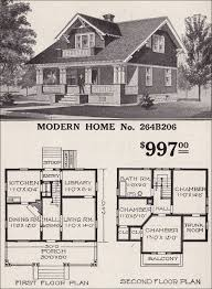 sears homes floor plans modern home no 264b206 1916 sears roebuck modern homes a favorite