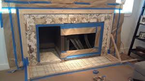 how to make a concrete fireplace surround six simple steps youtube