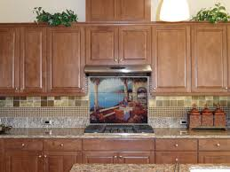 tile murals for kitchen backsplash kitchen backsplash tile mural mediterranean kitchen chicago