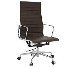 Cheap Office Chairs by Simple Modern Black Leather Seat Feat High Backrest For Conference