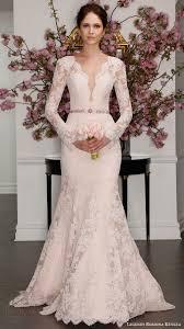 blush wedding dress with sleeves legends romona keveza 2017 wedding dresses blush color