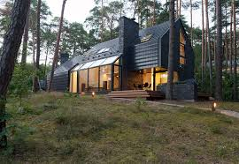 forest house modern forest house dedicated to blues music black house blues