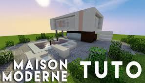 Maison Modern Minecraft by Minecraft Tuto Construction D U0027une Maison Moderne Simple Youtube