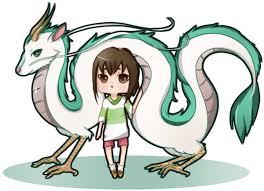 spirited away dragon haku and chihiro by noizrnel on deviantart