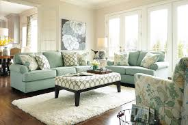 Mint Green Home Decor Furniture Lovely Living Room With Mint Green Linen Upholstered