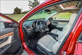 Honda Upholstery Fabric 2017 Honda Cr V Interior Honda Com