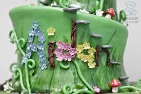 fairy garden birthday cake bearkery bakery